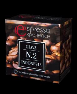 Astuccio Giava Indonesia Nespresso 10 capsule compatibili