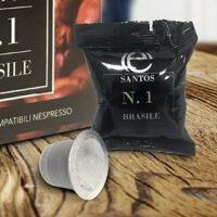 Santos Brasile Nespresso 100 capsule compatibili