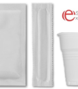 Kit accessori caffè, zucchero, palette, bicchierini per espresso
