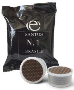 Santos Brasile Lavazza Espresso Point 100 capsule compatibili